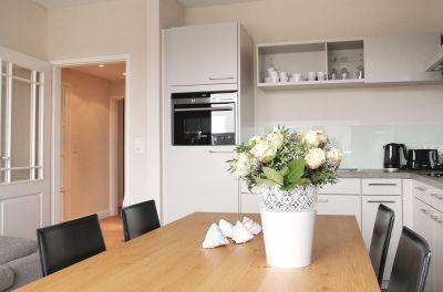 Ideal für Familien: Unser 4er-Apartment mit 2 Schlafzimmern und einem Wohn-/Essbereich mit Küchenzeile