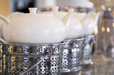 Wir bieten Ihnen natürlich auch zum Frühstück verschiedene leckere Teesorten