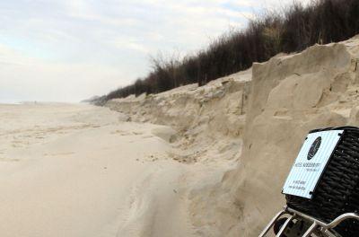 Die Insel Langeoog hat eine Fläche von rund 20 qkm, etwa 14 km Sandstrände und bis zu 20 m hohe Dünen